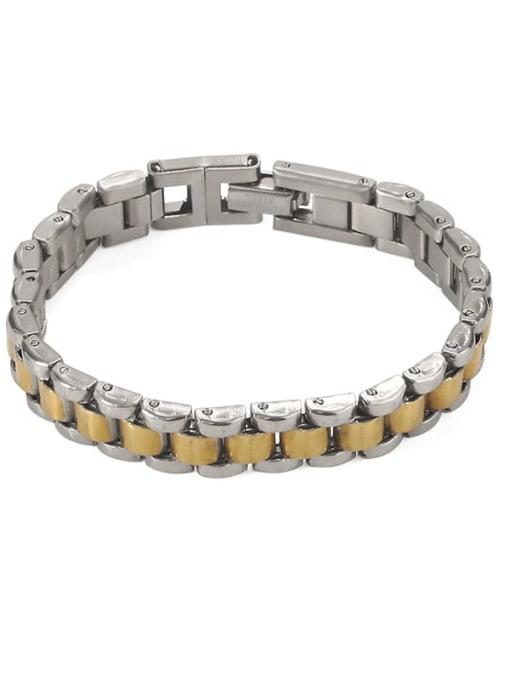 ACCA Titanium Geometric Vintage Bracelet