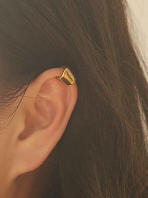 ACCA Brass Irregular Minimalist Single Earring (Single) 1