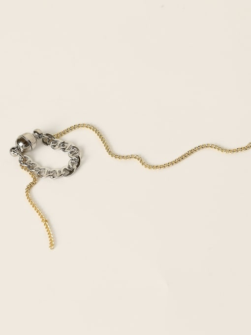 HYACINTH Brass Tassel Vintage Single Earring 4