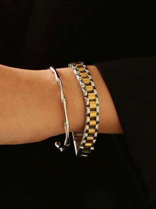 ACCA Titanium Geometric Vintage Bracelet 1