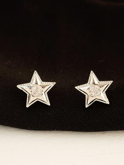 ACCA Brass Star Minimalist Stud Earring 0