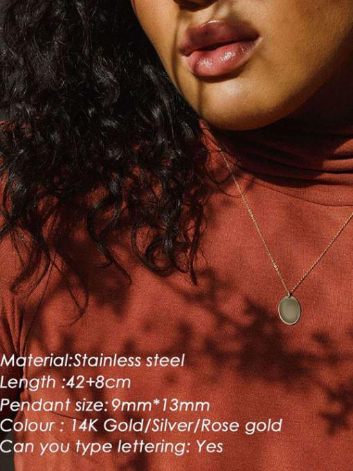 Desoto Stainless steel Constellation Minimalist Geometric  Pendnat Necklace 1