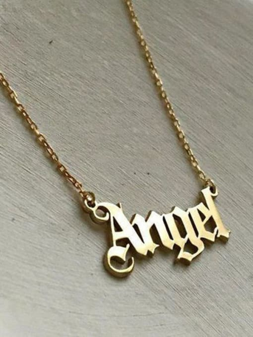 Desoto Custom Titanium Steel Name necklace 4