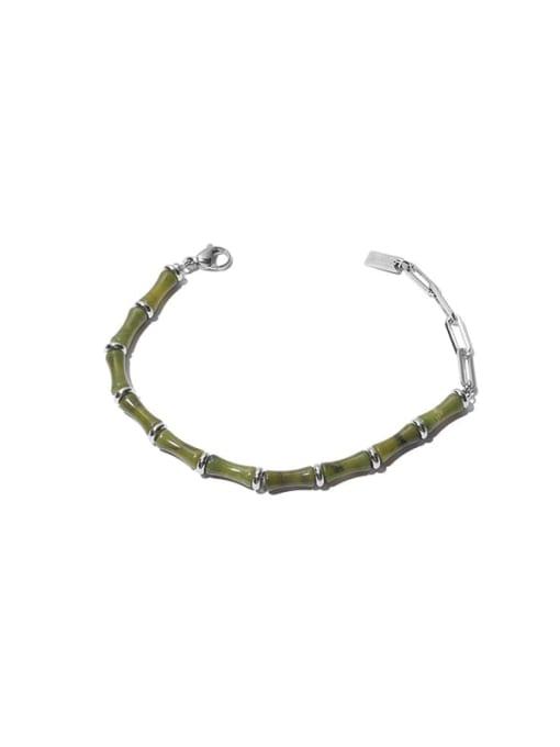 Bracelet Brass Enamel Geometric Vintage Necklace