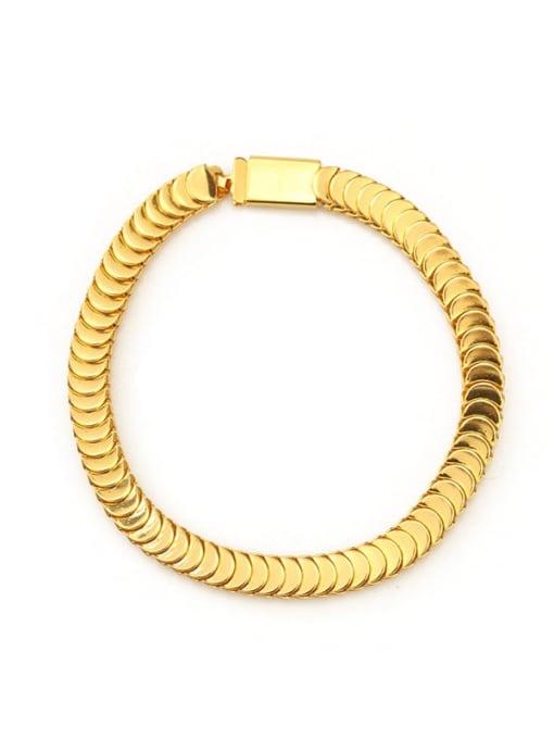 ACCA Brass Geometric Vintage Bracelet 3