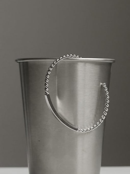 ACCA Brass Geometric Vintage Geometric chain vintage twist  Bracelet 2
