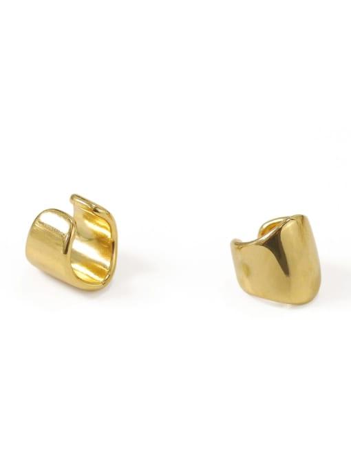 ACCA Brass Irregular Minimalist Single Earring (Single) 3