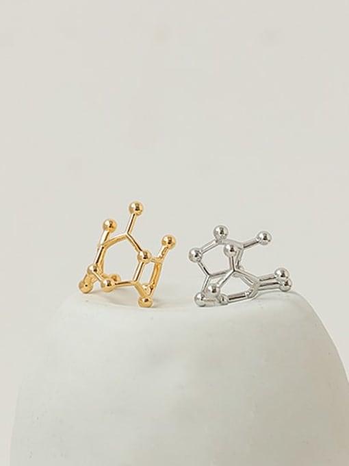 ACCA Brass Irregular Minimalist Single Earring 0