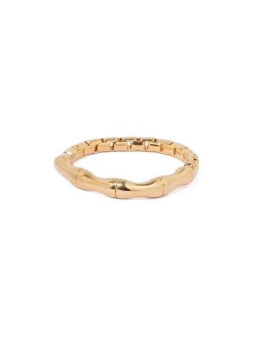 ACCA Brass Irregular Vintage Band Ring 2