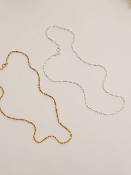 HYACINTH Brass Geometric Minimalist Necklace 2