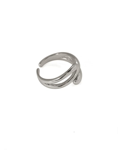 ACCA Brass Irregular Vintage Band Ring 2