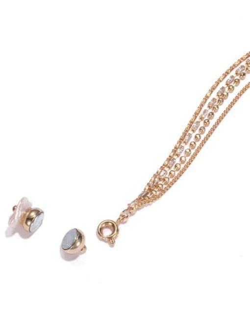 ACCA Brass Tassel Vintage Single Earring 2