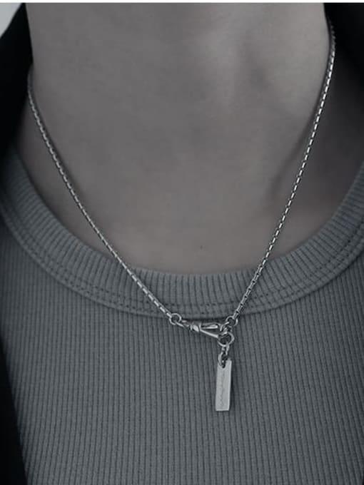 TINGS Brass Letter Tassel  Vintage Necklace 2
