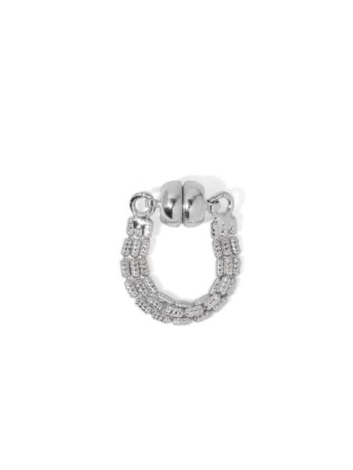 Silver (sold separately) Brass Bead Tassel Vintage Single Earring