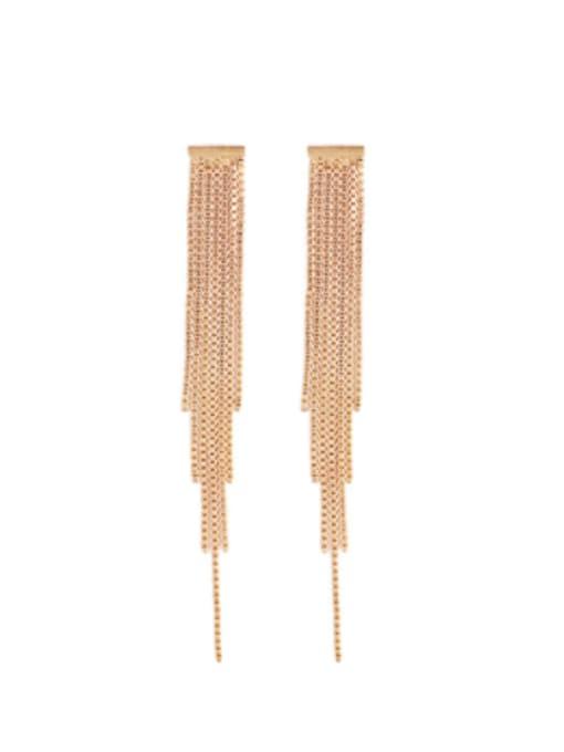 Tassel Earrings Brass Tassel Vintage Drop Earring