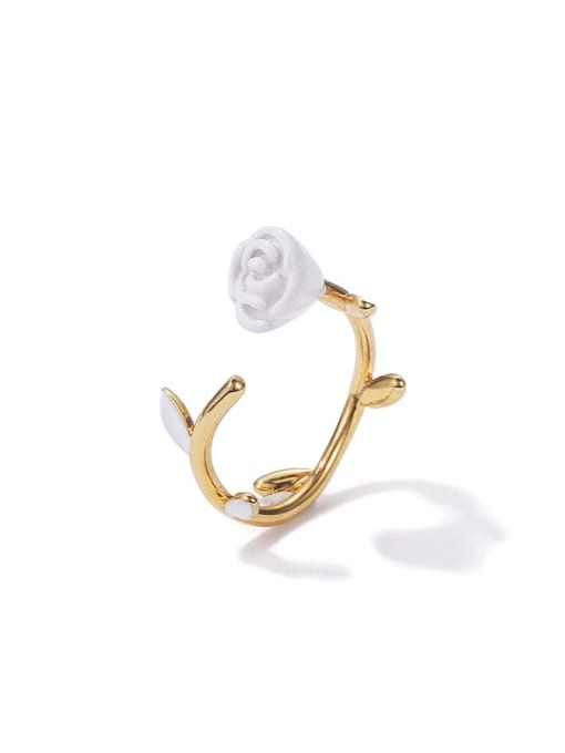 ACCA Brass Enamel Rosary Cute Band Ring 2