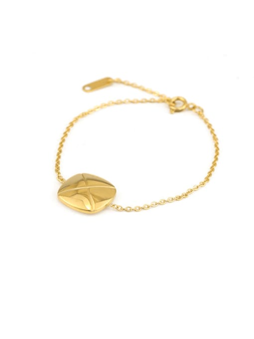 ACCA Titanium Geometric Vintage Link Bracelet