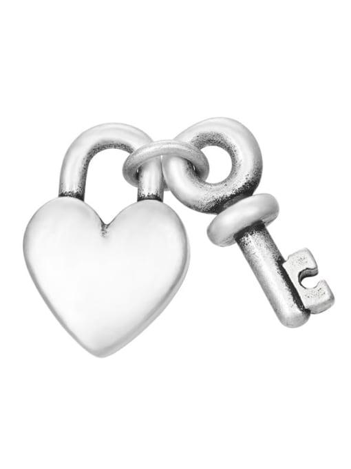 Desoto Stainless steel Vintage Key  Pendant DIY 3