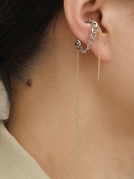 HYACINTH Brass Tassel Vintage Single Earring 2