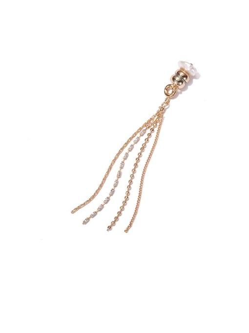 ACCA Brass Tassel Vintage Single Earring 3