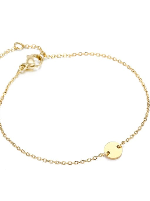 Desoto Stainless steel Constellation Minimalist Link Bracelet 3