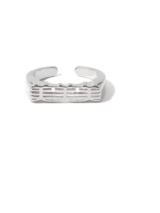 TINGS Brass Message Minimalist Band Ring 2