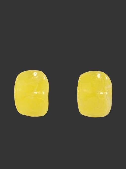 Section 1 Alloy Enamel Geometric Cute Stud Earring
