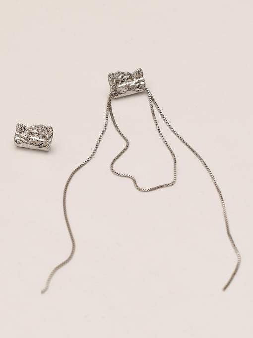 HYACINTH Brass Tassel Vintage Drop Earring 4
