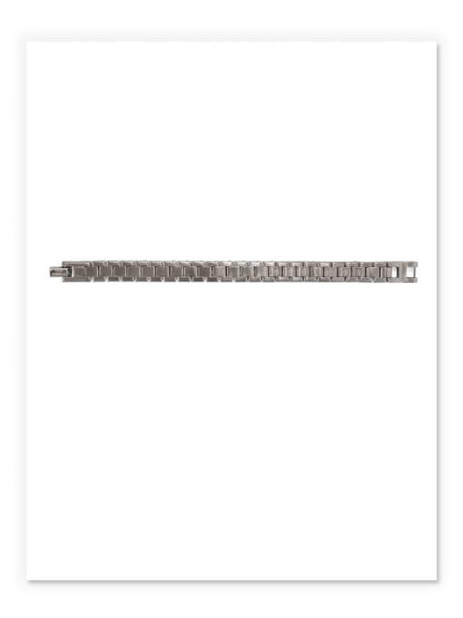 ACCA Titanium Geometric Vintage Bracelet 3