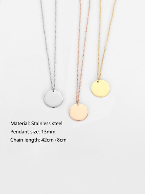Desoto Stainless steel Bead Geometric Minimalist Multi Strand Necklace 3