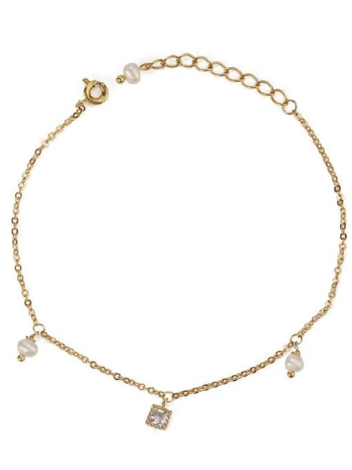 Five Color Brass Cubic Zirconia Star Minimalist Link Bracelet 4
