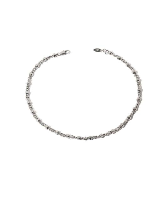 TINGS Brass Geometric Hip Hop Necklace