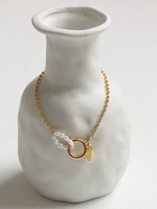 ACCA Brass Bead Geometric Vintage Beaded Bracelet 2