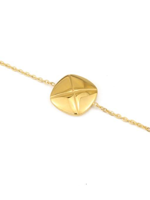ACCA Titanium Geometric Vintage Link Bracelet 2