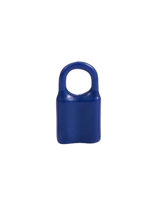 Blue Earrings single sale Brass Multi Color Enamel Locket Minimalist Huggie Earring