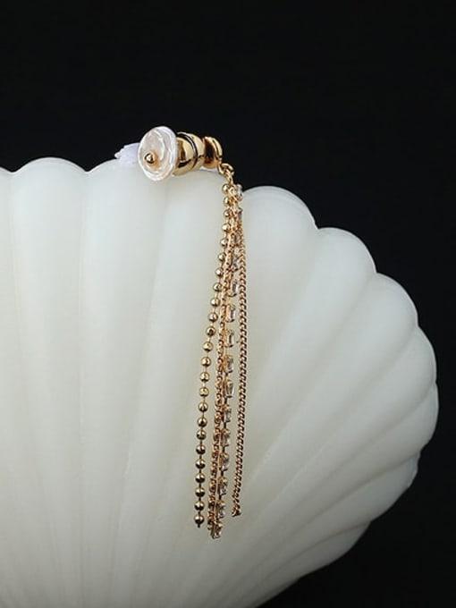 ACCA Brass Tassel Vintage Single Earring