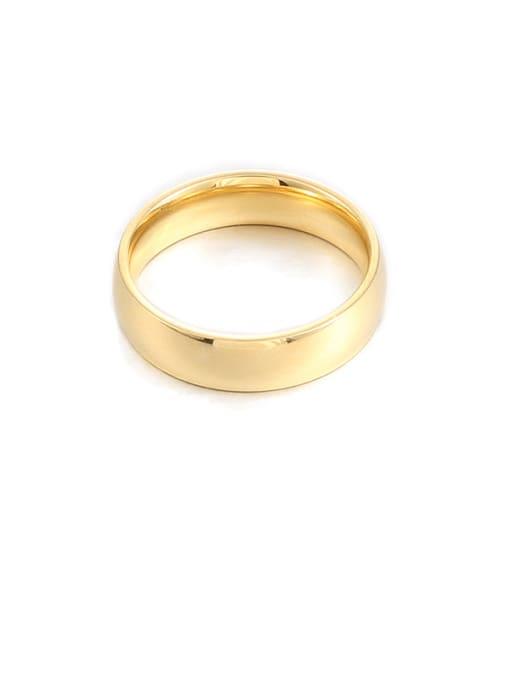 5mm wide Titanium Steel Round Minimalist Band Ring
