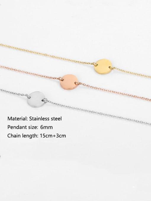 Desoto Stainless steel Constellation Minimalist Link Bracelet 1