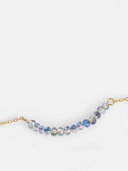 Desoto Stainless steel Bead Geometric Minimalist Necklace 2