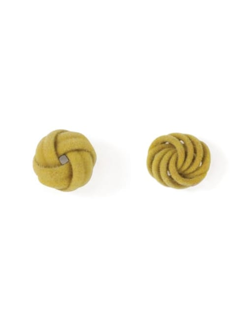 Five Color Alloy Enamel Geometric Cute Stud Earring 2