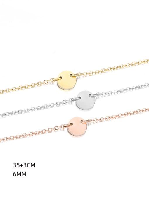 Desoto Stainless steel Tassel Minimalist Multi Strand Necklace 2
