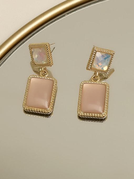 HYACINTH Copper Resin Geometric Vintage Drop Earring 3
