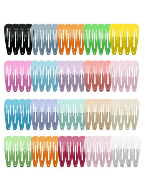 DINGHM Alloy Multi Color Cute Water Drop Hair Barrette 3
