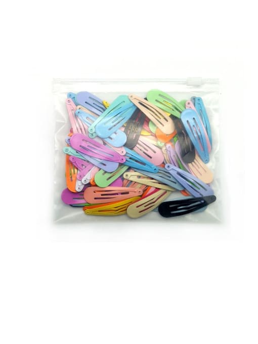DINGHM Alloy Multi ColorCute Water Drop  Hair Barrette 4