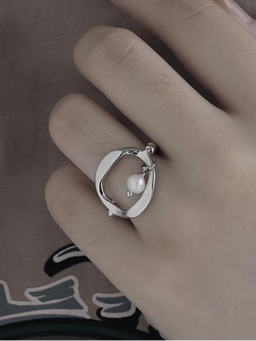 TINGS Brass Geometric Minimalist Band Ring 1