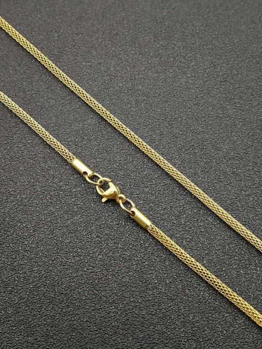 HI HOP Titanium Steel Irregular Hip Hop Corn Chain 3