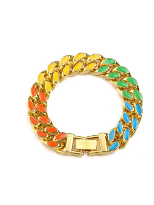 WOLF Alloy Resin Geometric Bohemia Necklace 4
