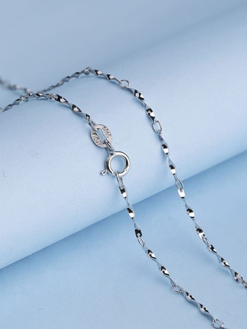 Supply 925 Sterling Silver Twisted Chain 1