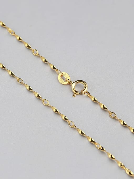 Supply 925 Sterling Silver Twisted Chain 3