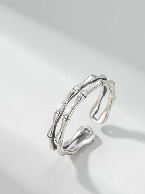 ARTTI 925 Sterling Silver Irregular Vintage Stackable Ring